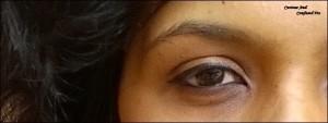 Maybelline Hyper Matte eyeliner swatch