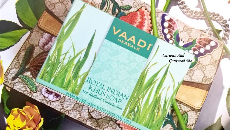 Vaadi Herbals Royal Indian Khus Soap: Review