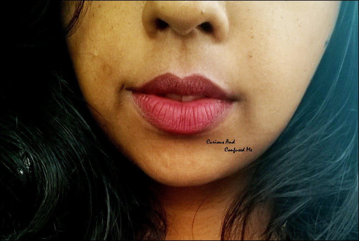 arezia matte me lipstick in marron mature az-14 : review, swatch