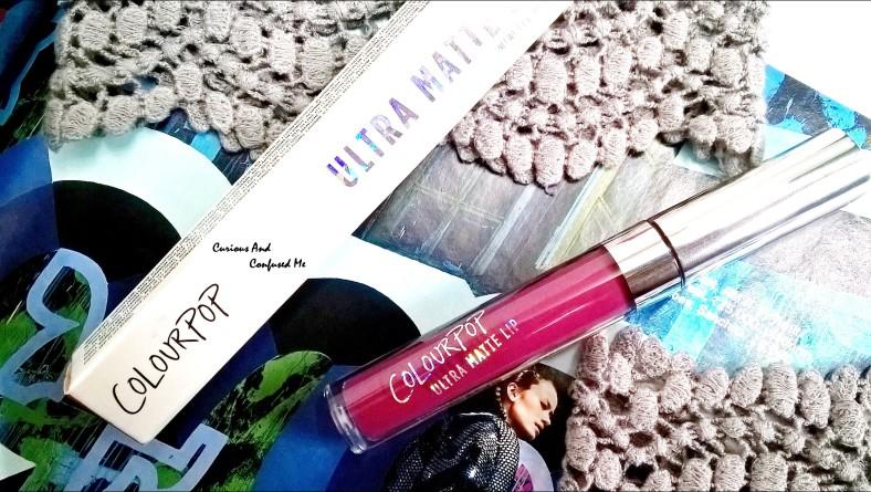 Colourpop Ultra Matte Liquid Lipstick in More Better : Review, swatch, LOTD