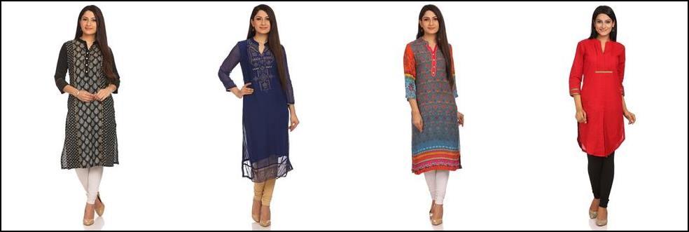 Choosing kurtas that will flatter your body type!!