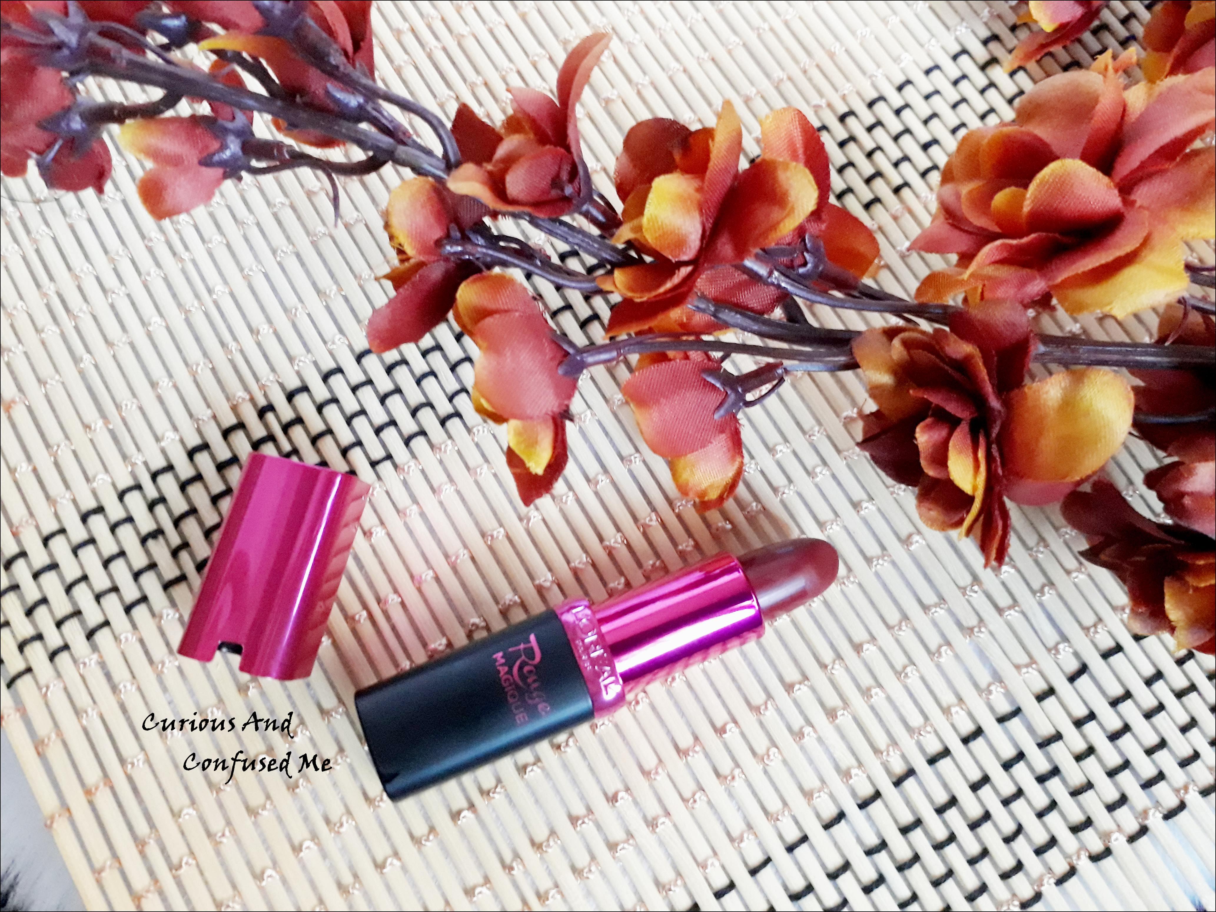 L'Oreal Paris Rouge Magique Lipstick – 909 Royal Veloute : Review, swatch