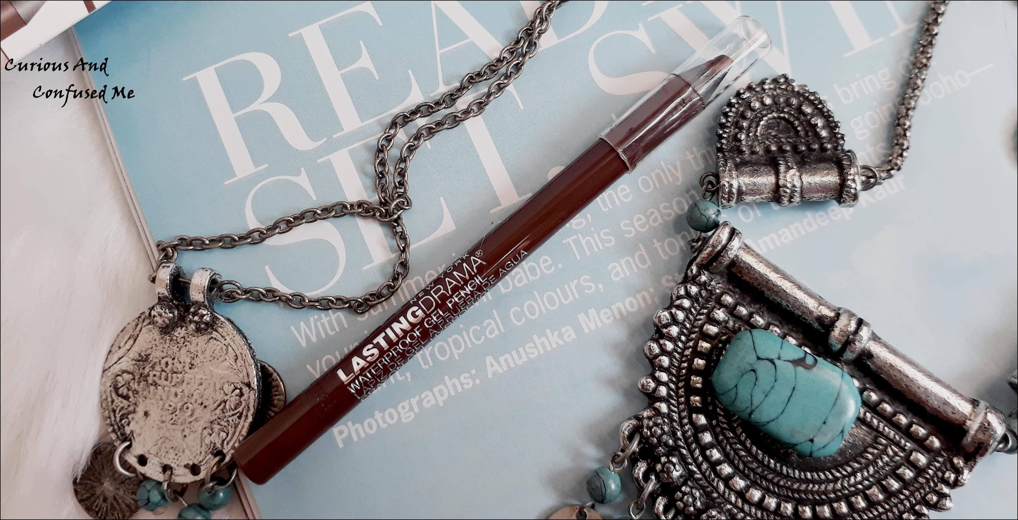 Maybelline Eyestudio Lasting Drama Waterproof Gel Pencil – Glazed Toffee : Review, swatch