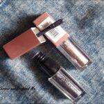 Swiss beauty metallic liquid eyeshadow review : 04  and 06