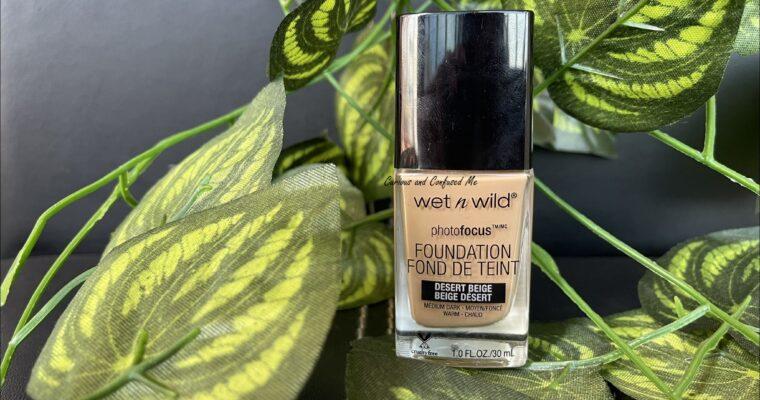 Wet n Wild Photo Focus Foundation Review : Desert Beige